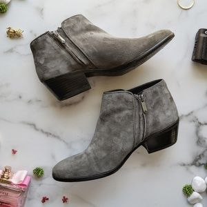 Sam Edelman Shoes - SAM EDELMAN Petty chelsea grey suede ankle bootie